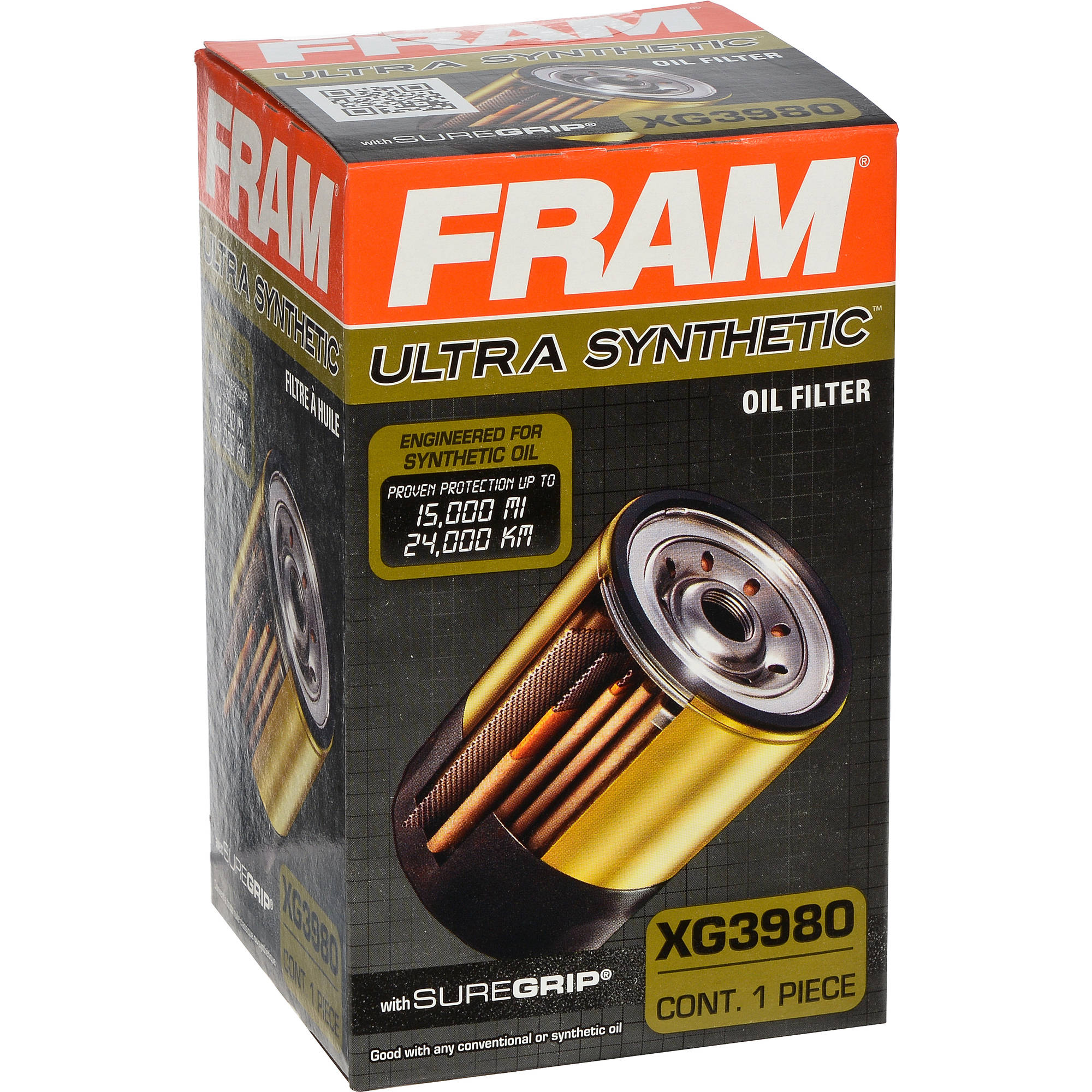 FRAM Ultra Synthetic Oil Filter, XG3980