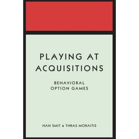 Playing At Acquisitions  Behavioral Option Games