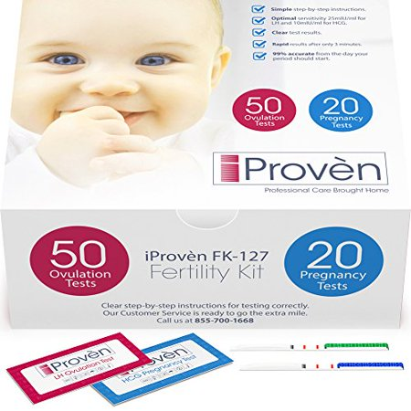 Ovulation Test Strips And Pregnancy Test Kit 50 Lh And 20 Hcg