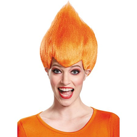 Morris Costumes Adult Unisex M Shape Hair Wacky Wig Orange One Size, Style DG11523OR - Wacky Wigs