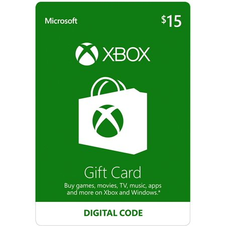 XBOX Physical Gift Cards (2 pack of $15.00 Cards)