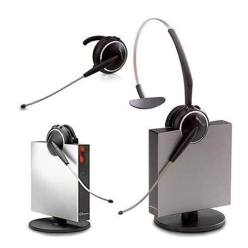 Jabra GN9125 Mono ST Headset DECT 6.0 Tech w  Omni Directional Boom by GN Netcom