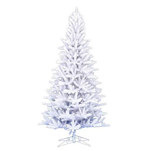 "Vickerman 633601-4.5' x 33"" Shiny White Spruce Christmas ..."