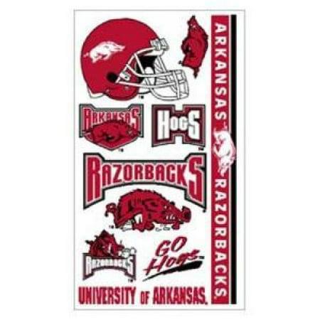 Arkansas Razorbacks Temporary - Razorback Tattoos