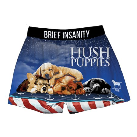 Brief Insanity Brief Insanity Hush Puppies Dog Lovers American