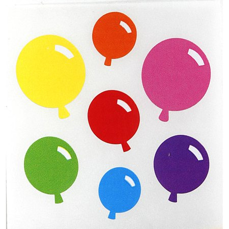 Balloon Stickers (Balloons Sandylion Kromekote Acid-Free Stickers)
