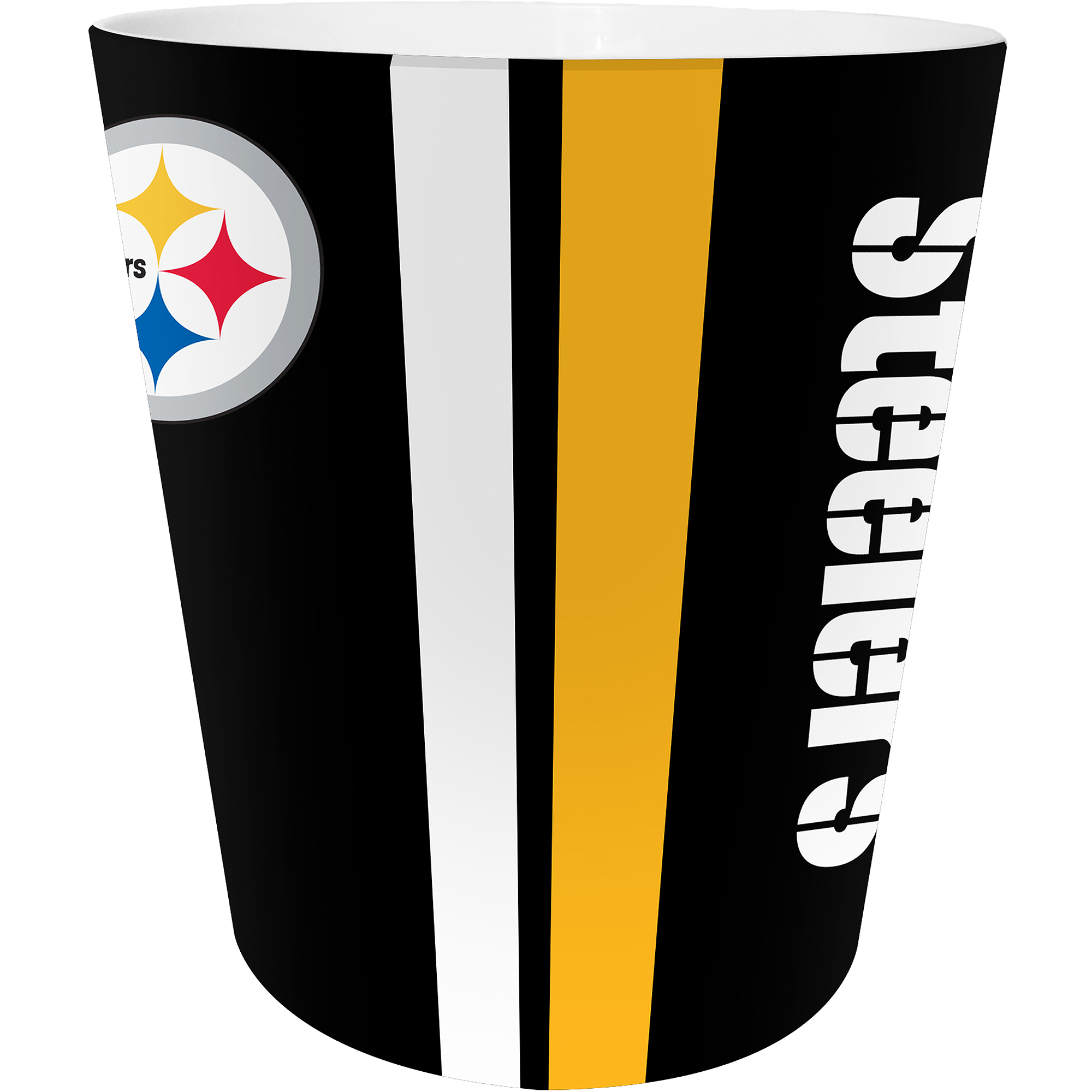 NFL Pittsburgh Steelers Decorative Bath Collection - Wastecan