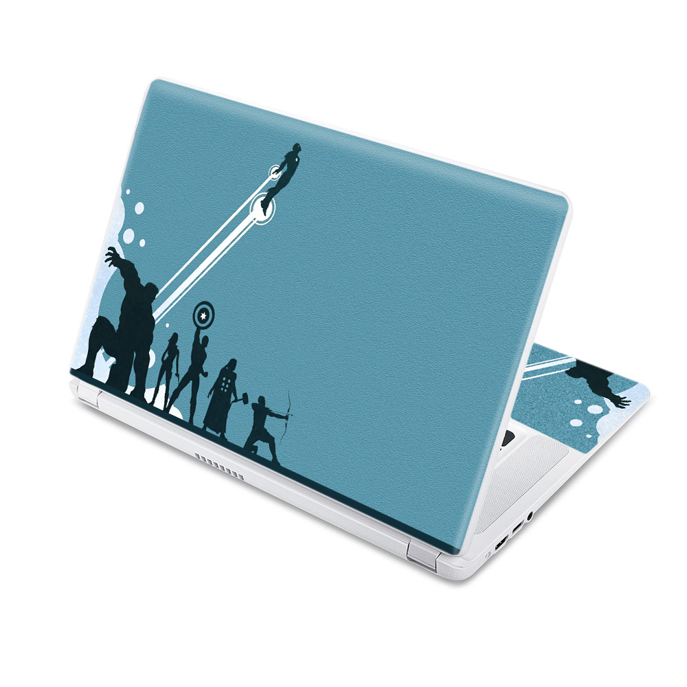 MightySkins Protective Vinyl Skin Decal for Acer Chromebook 11 CB3-111-C670 wrap cover sticker skins White Marble