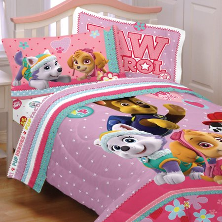 Store51 Llc 18387477 Paw Patrol Twin Bedding Set Best Pup Pals Comforter