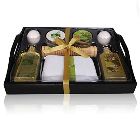 Christmas Gift For Her Spa Gift Basket Refreshing Fragrance Enriched with Natural Argan Oil, ()