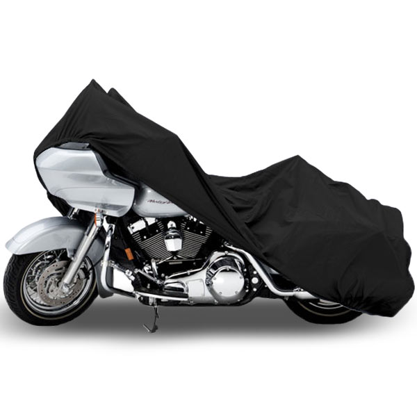 Motorcycle Bike Cover Travel Dust Storage Cover For Harley Dyna Glide Wide Glide FXDWG FXWG - image 3 of 3