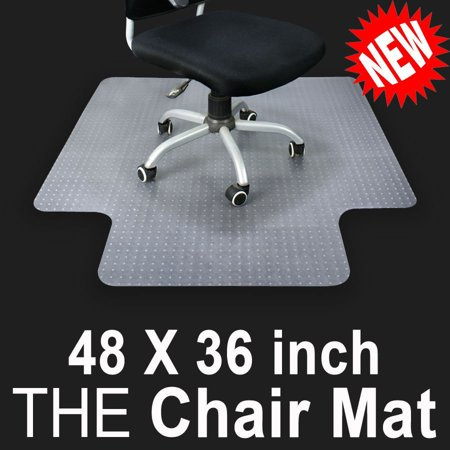 Ktaxon 36 X 48 Home Office Chair PVC Floor Mat Studded Back With Lip