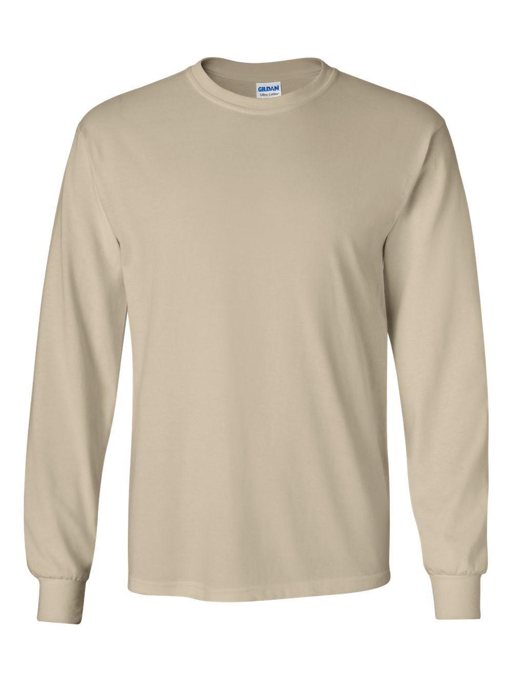 Gildan Tee Shirt 2400 6.1 oz Ultra Cotton Long Sleeve