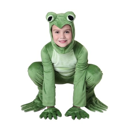 Frogs Halloween (Child Deluxe Frog Costume)