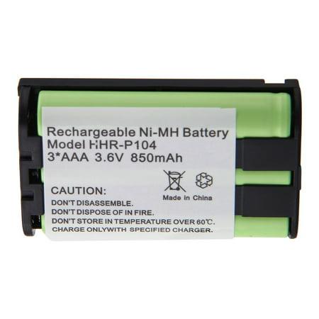 foto de 1pcs Cordless Phone Battery for Panasonic HHR P104