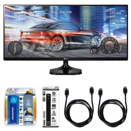 LG 2560 x 1080 Resolution (FHD) 25
