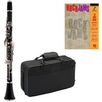 Rock Jams Clarinet Pack - Includes Clarinet w/Case & Accessories & Rock Jams Play Along Book