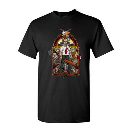 Nouveau Top - Shaun Of The Nouveau Art Zombies Salih Gonenli Artworks Funny DT Adult T-Shirt Tee