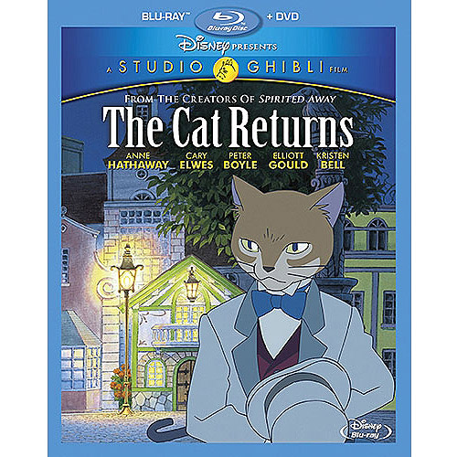 The Cat Returns (Blu-ray   DVD) (Widescreen)