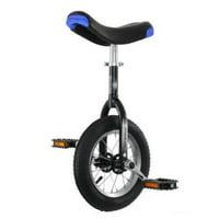 "Hoppley 16"" Unicycle - Perfect Starter Uni - Black"