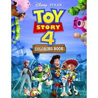 Toy Story 4 Coloring Book: Toy Story 4 Jumbo Coloring Book With High Quality Images For All Ages Based On 2019 Cartoon(Unofficial) (Paperback)