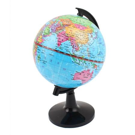 World Map Globe Ball. World Map Globe Toy Foam Earth Ball Geography Educational 4 3  Dia