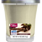 Better Homes and Gardens 17 oz French Country Vanilla Candle