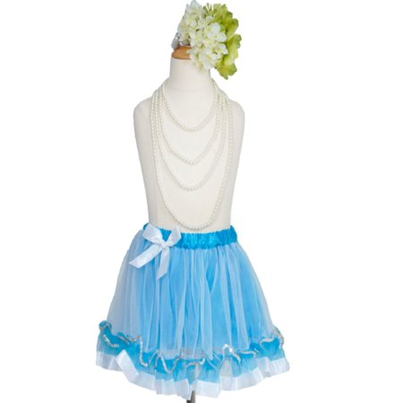 Efavormart Organza Girls Ballet Tutu Skirt for Dance Performance Event with Polka Dots Satin Edge Wedding Party Banquet Dance Skirt](Event Halloween Jakarta)