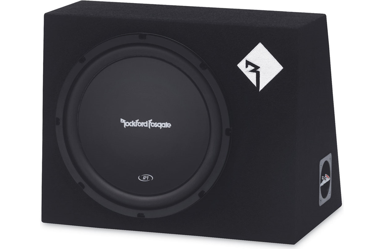 "Rockford Fosgate R1L-1X12 300 Watts Loaded Prime Single 12/"" Subwoofer Enclosure"