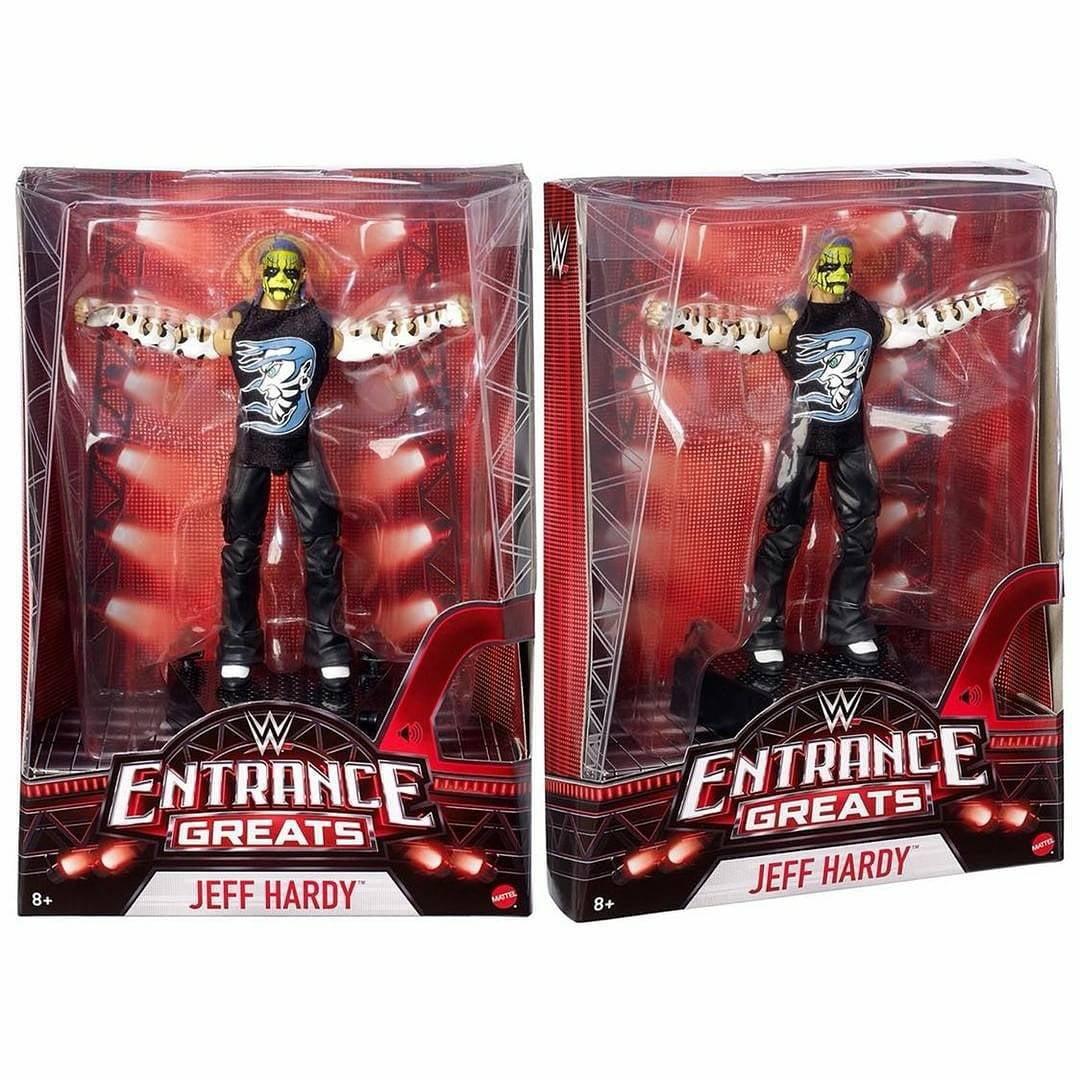 WWE Entrance Greats Jeff Hardy Action Figure by