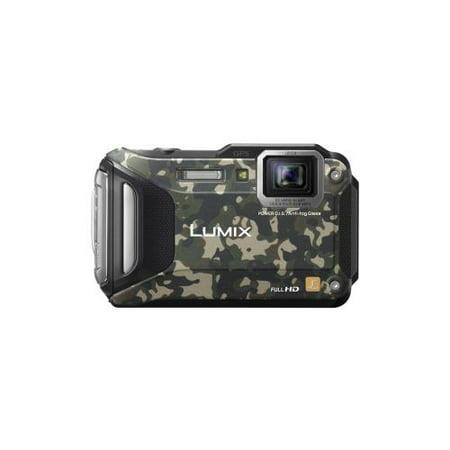 Panasonic Lumix TS6 16 MP WiFi Enabled Tough Adventure Camera - Camouflage