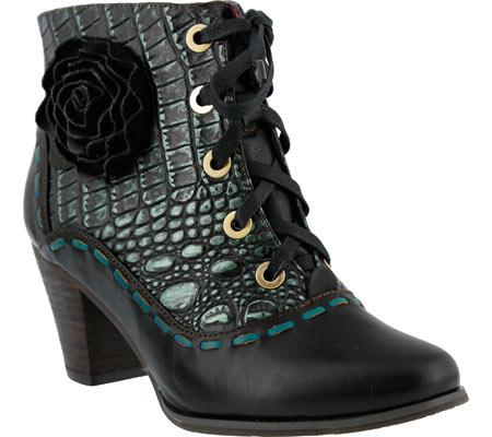 lartiste by spring step women's sufi boot, black, 40 eu/9 m us