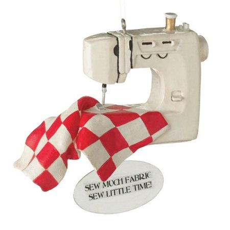 Sewing Machine Christmas Tree Ornament