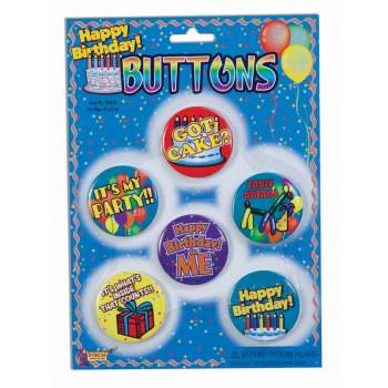 Happy Birthday Button (HAPPY BIRTHDAY BUTTONS)