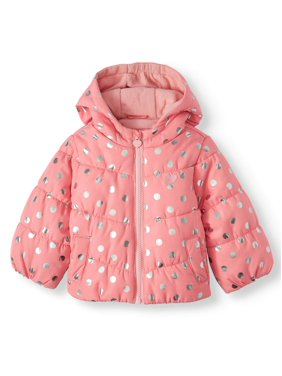 Child of Mine by Carter's Baby Toddler Girl Bubble Jacket Winter Coat
