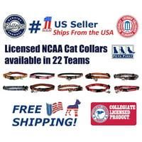 Pets First College Auburn Tigers Cat Collar