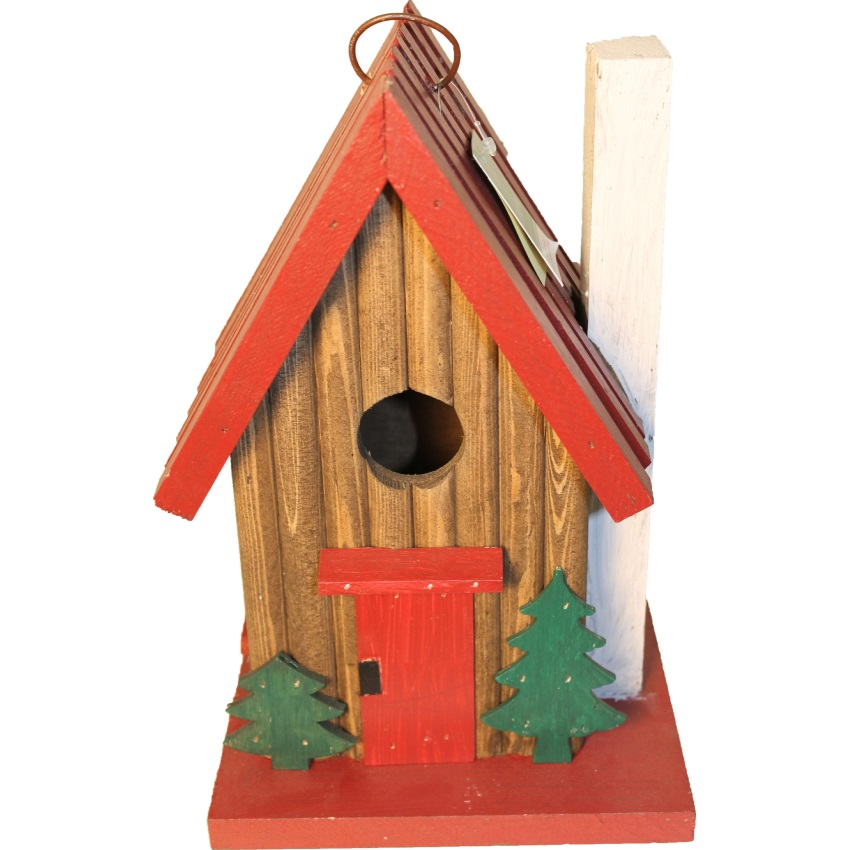 SONGBIRD MOUNTAIN CABIN BIRD HOUSE - SE986, (Pack of 1)