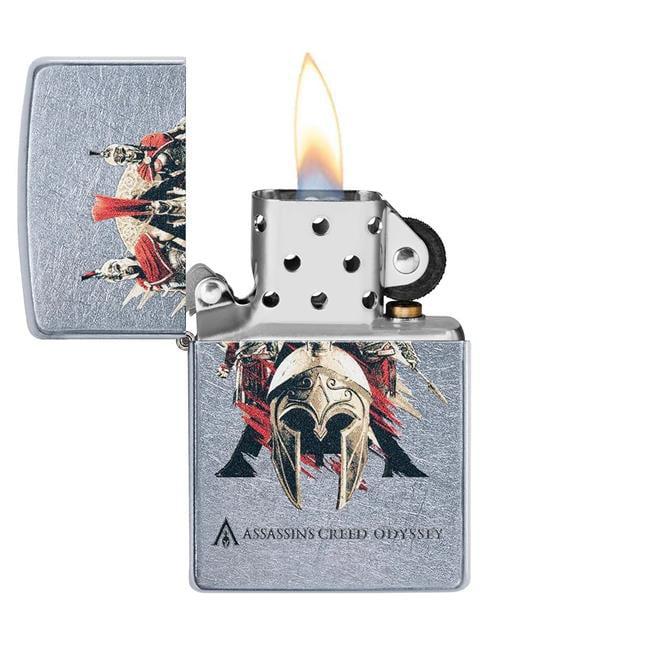 Cards Plus 49084 Zippo Assassins Creed Chrome Pocket Lighter