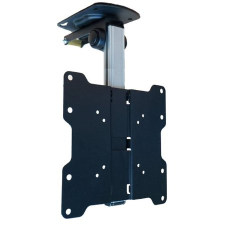 "- Mount-It! TV Ceiling Mount Kitchen Under Cabinet TV Bracket Folding 13""-37"" LCD/LED VESA 75x75, 100x100, 200x200 (MI-4222)"