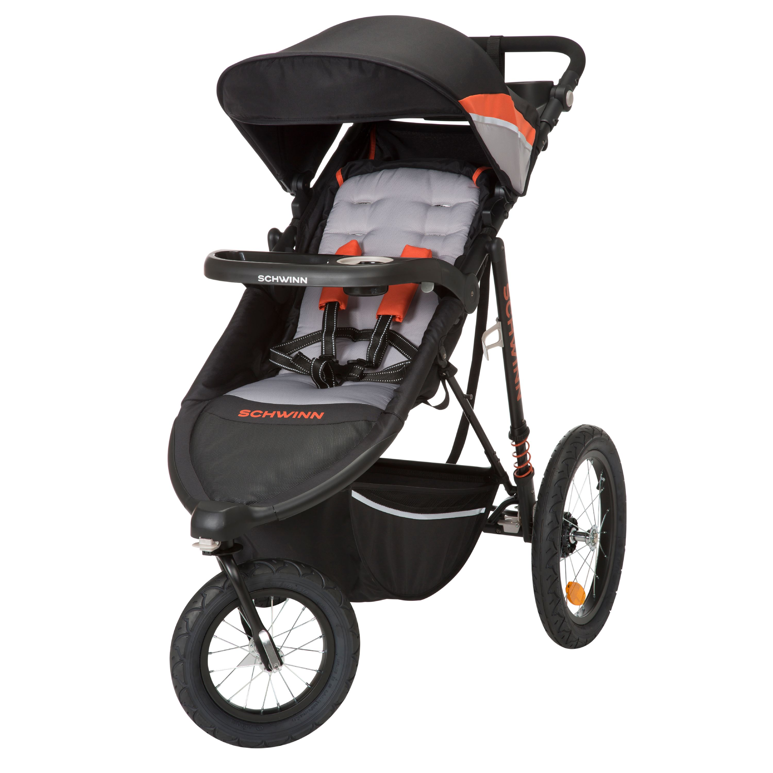 Schwinn Interval 2-in-1 Jogger Stroller, Oriole