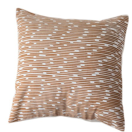 Sustainable Threads Burnt Channels Cotton Throw Pillow - Walmart.com 0700e586bf