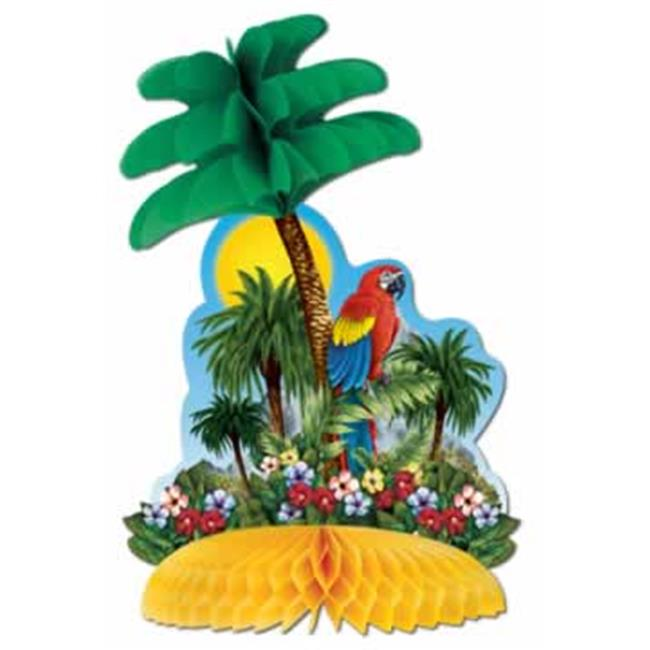 Tropical Island Centerpiece- Pack of 12