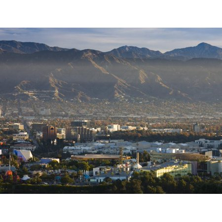 California, Los Angeles, San Fernando Valley, Universal City, Morning, USA Print Wall Art By Walter
