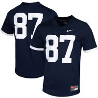 #87 Penn State Nittany Lions Nike Untouchable Game Jersey - Navy