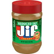 Jif Reduced Fat Creamy Peanut Butter Spread, 16-Ounce