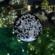 Solar powered christmas lights qedertek solar christmas lights patio decorative lights39ft 100 led outdoor waterproof fairy solar string workwithnaturefo