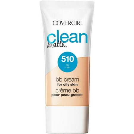 2 Pack - CoverGirl Clean Matte BB Cream For Oily Skin, Fair 510 1