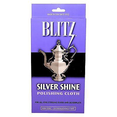 Blitz Silver Shine Polishing & Cleaning Cloth