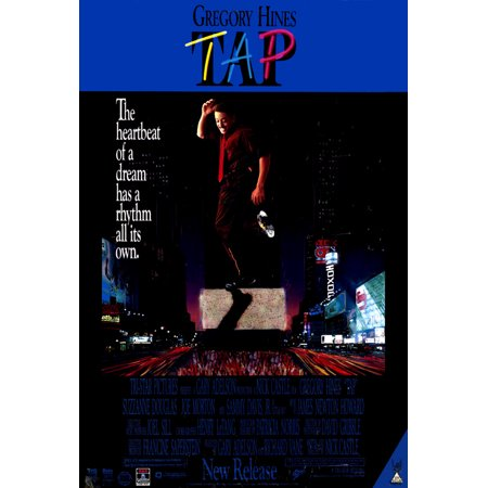 Davis Movie Poster - Tap Poster Movie B 27 x 40 In - 69cm x 102cm Gregory Hines Sammy Davis Jr. Suzzanne Douglass Joe Morton Terrance McNally Steve Condos