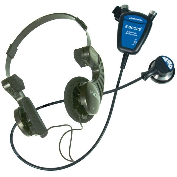 Maxiaids Hearing Impaired E-Scope II w-Convert. Headphones